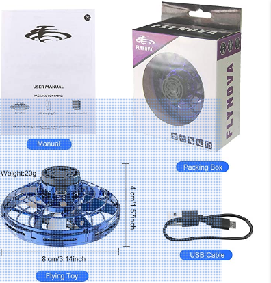 The Flynova drone complete kit