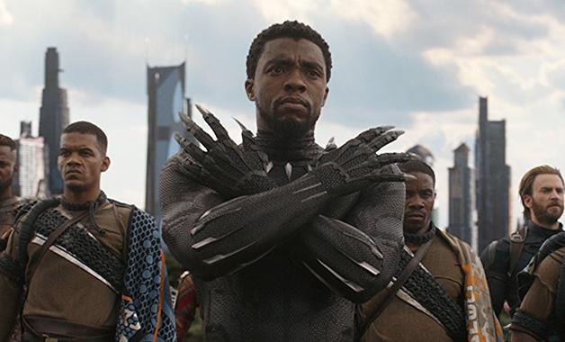 Chadwick Boseman Avengers Infinity War