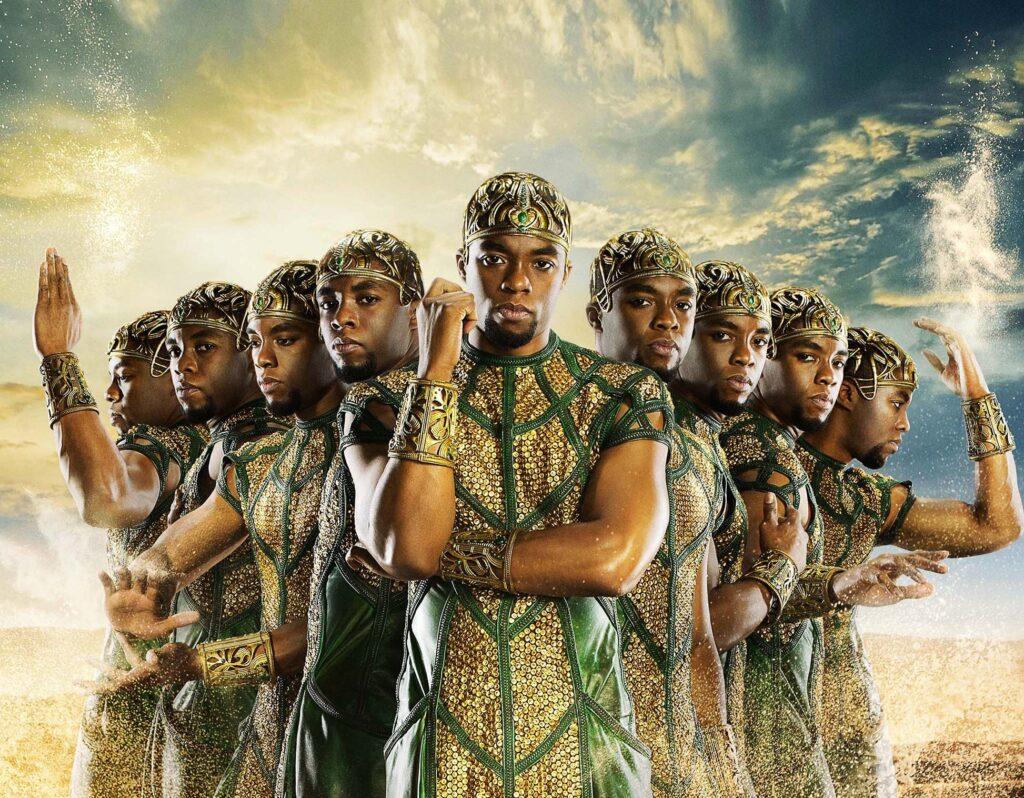 Chadwick Boseman gods of egypt
