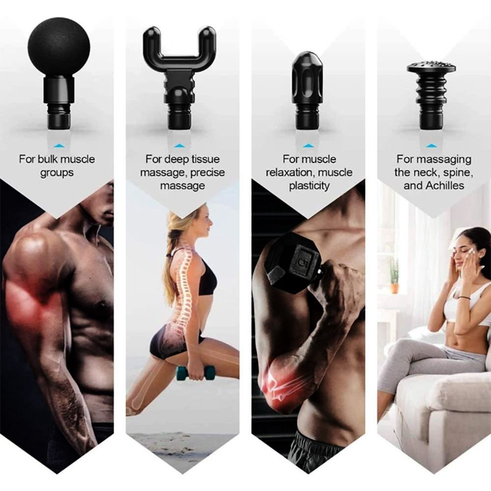 MuscleRelax Pro muscle massager gun