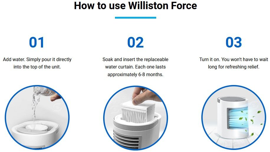 Willinston force ac review